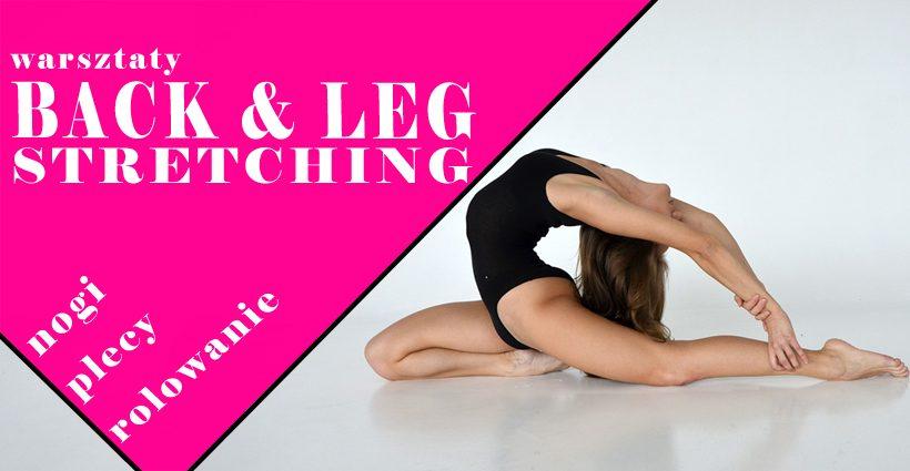 Warsztaty Back & Leg Stretching + rolowanie