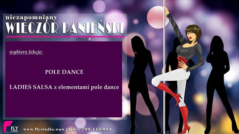 Wieczór panieński – lekcja pole dance